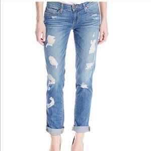 PAIGE | Jimmy Jimmy Skinny Distressed Jeans